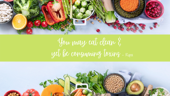 Clean diet may not safe guard from toxins