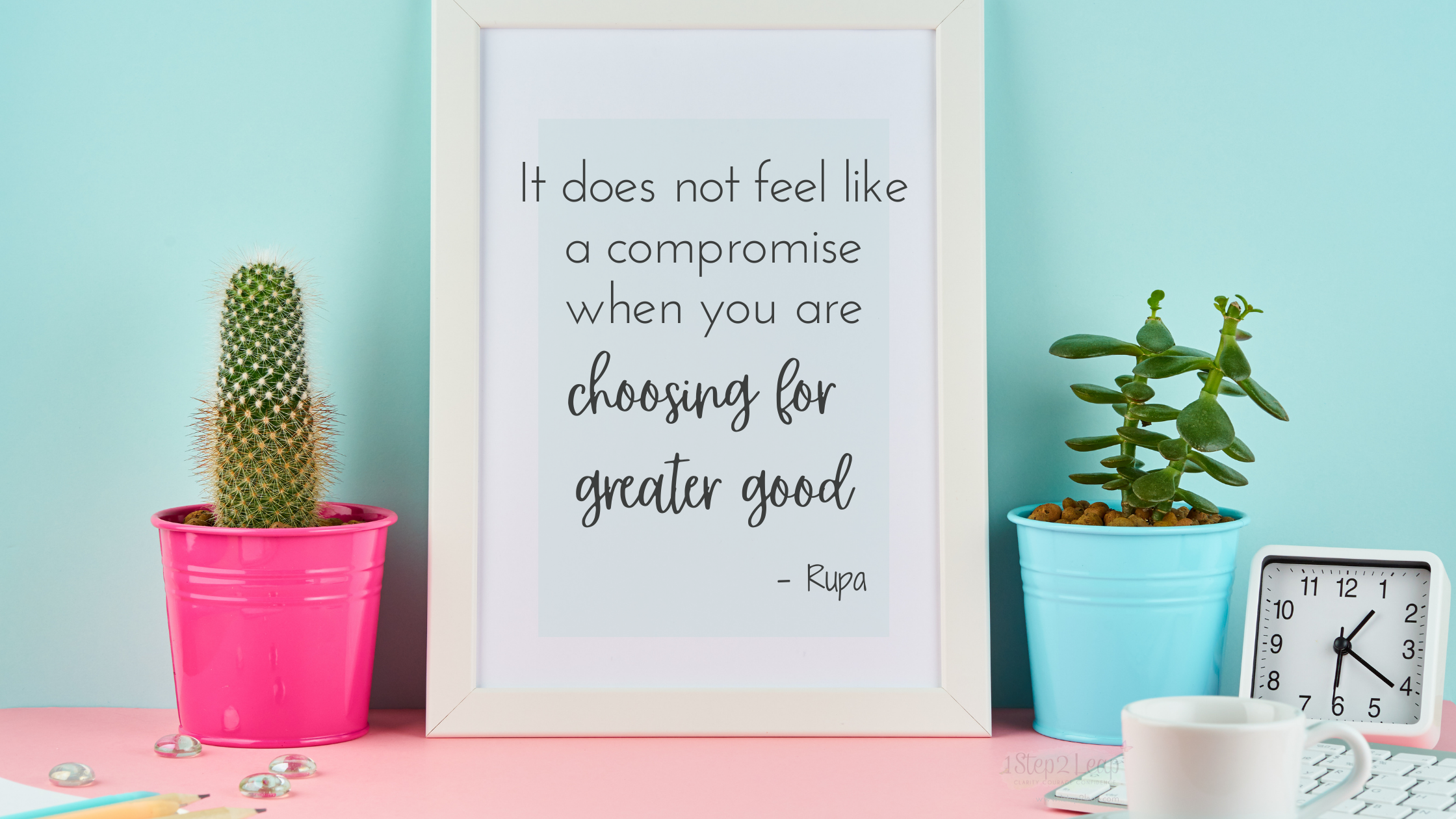 Compromise, Adjustment or Simply Choosing for Greater Good
