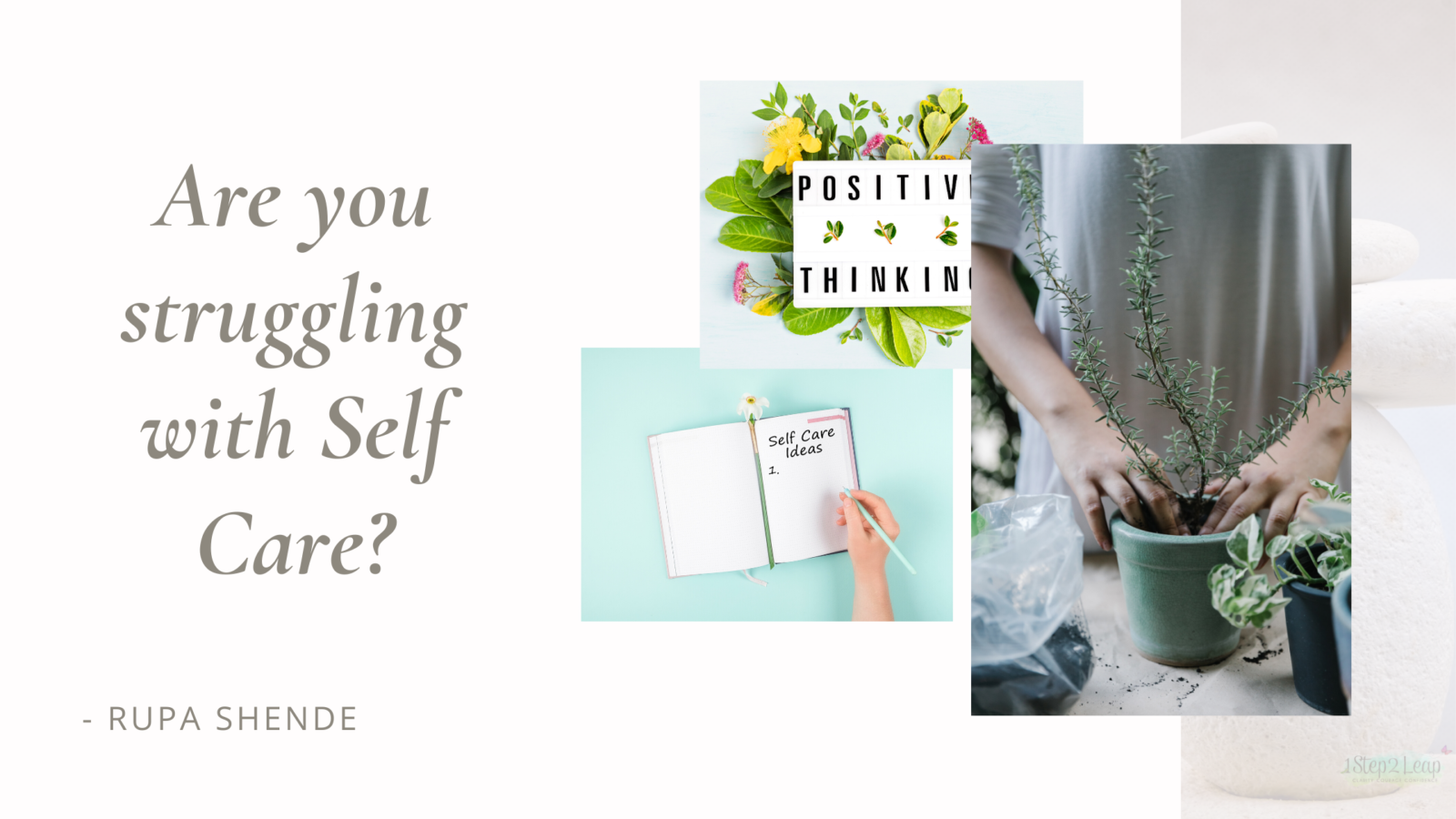 Are you Struggling with Self-Care?
