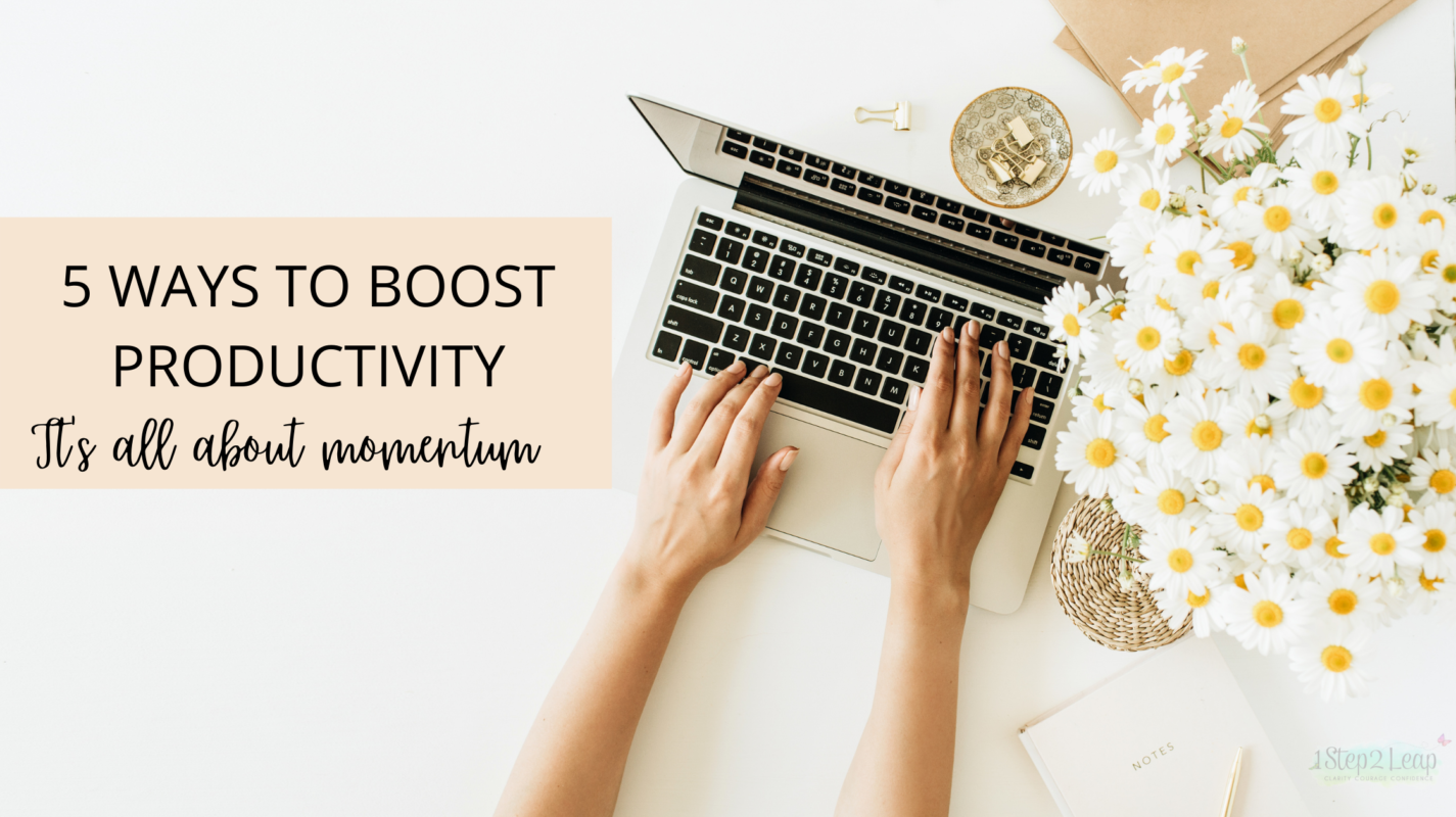 5 ways to boost productivity